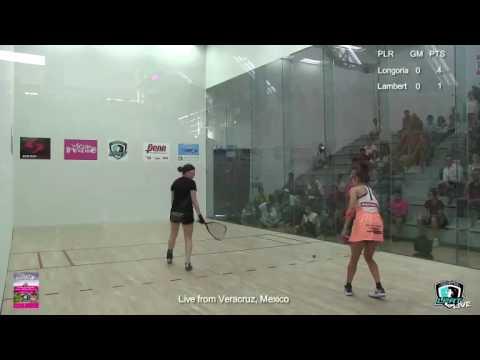 Tour Rosa Mexicano   Veracruz   Finals   Paola Longoria v Frederique Lambert