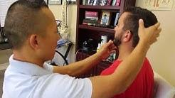 College wrestler gets adjusted! {LOUD CRACKS: Turn up Volume}, Bonita Springs Chiropractor