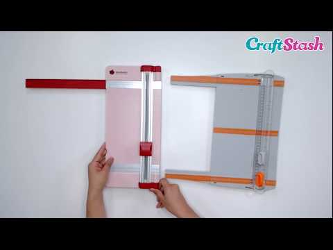 What's The Difference Between Paper Trimmers vs Guillotines? - Craft Product Comparison