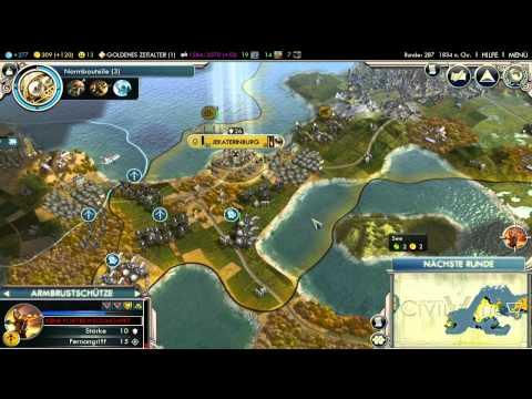 Let's Play Civilization 5 HD Part 40 - Kriegsproduktion |