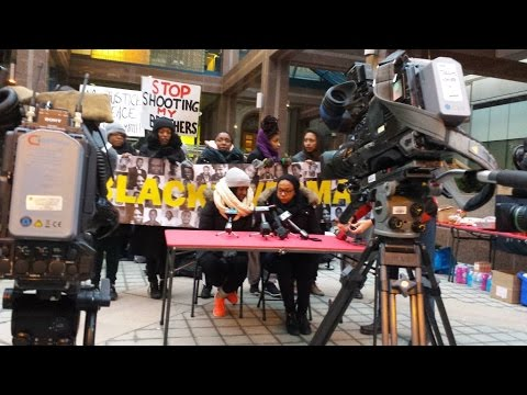 Black Lives Matter Activists Protest Toronto Police Killings With Ongoing Occupation