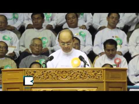 Myanmar President Vows to Improve Lower Class with Co-Operative Methods
