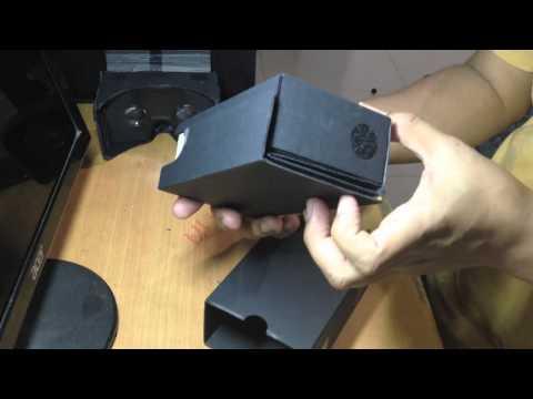 Unboxing Google Cardboard v2 Cara Merakit Dan Review Singkat