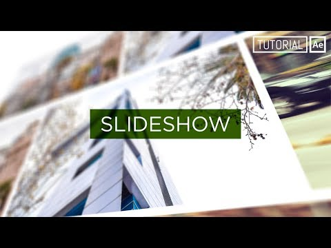Slideshow Simple - Tutorial After Effects [Español]