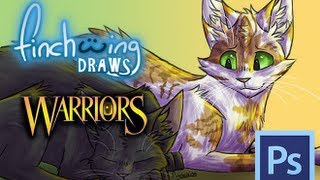 Finchwing Draws: Hollyleaf and Fallen Leaves (Warriors Speedpaint)