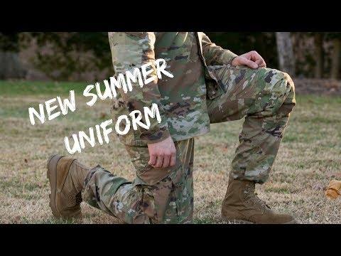 Army's New Summer Uniform