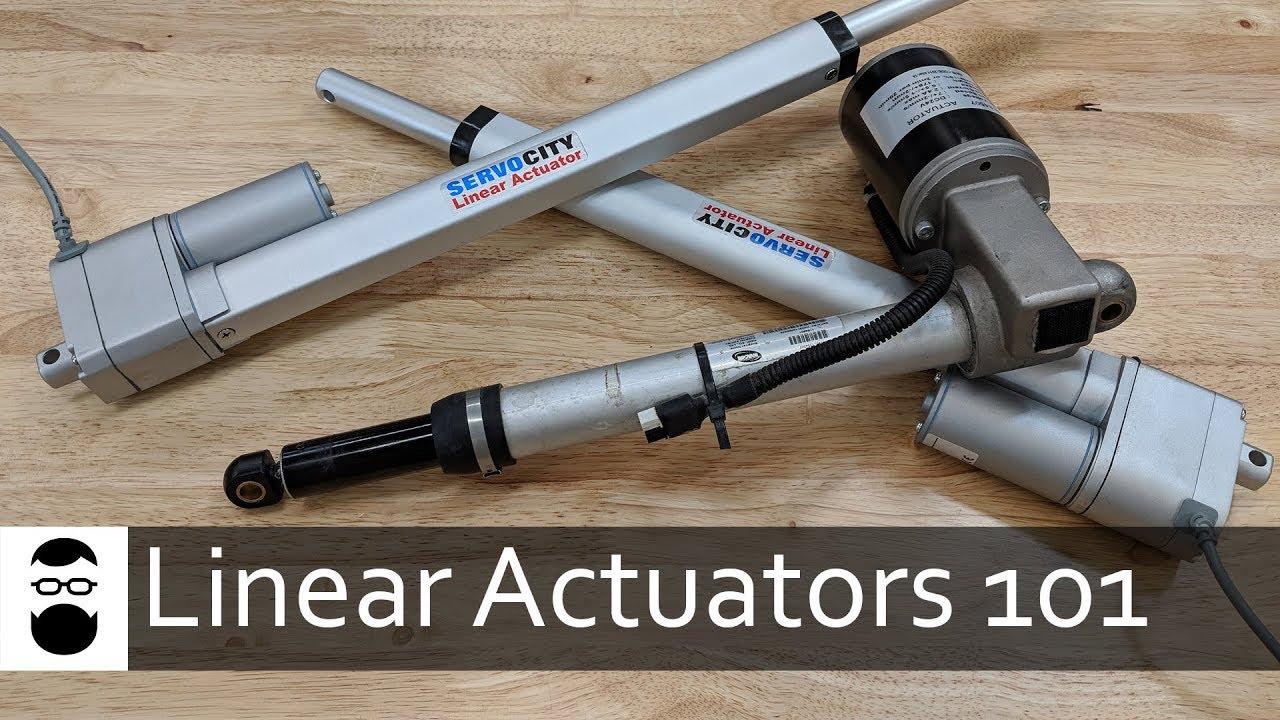 Linear Actuators 101 - YouTube