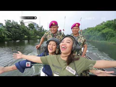 Sarah Sechan Takjub Dengan Situasi di Dalam Tank Amphibi thumbnail
