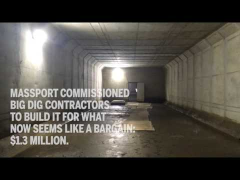 Massport planned this tunnel for a rainy day