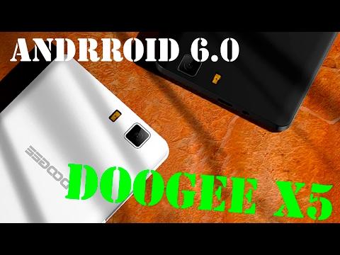 ОБЗОР ANDROID 6.0 НА DOOGEE X5