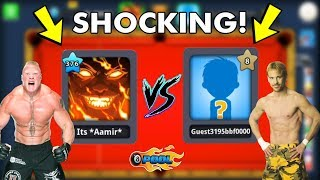 8 Ball Pool - LEVEL 376 vs LEVEL 8 All-In Match..(the result will shock you)