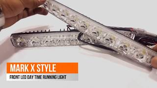 Mark X Style Front Led DRL – pair