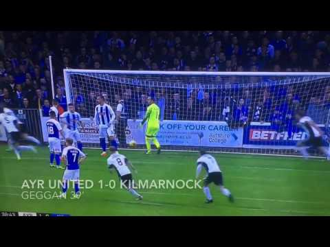 Ayr United 1-0 Kilmarnock highlights