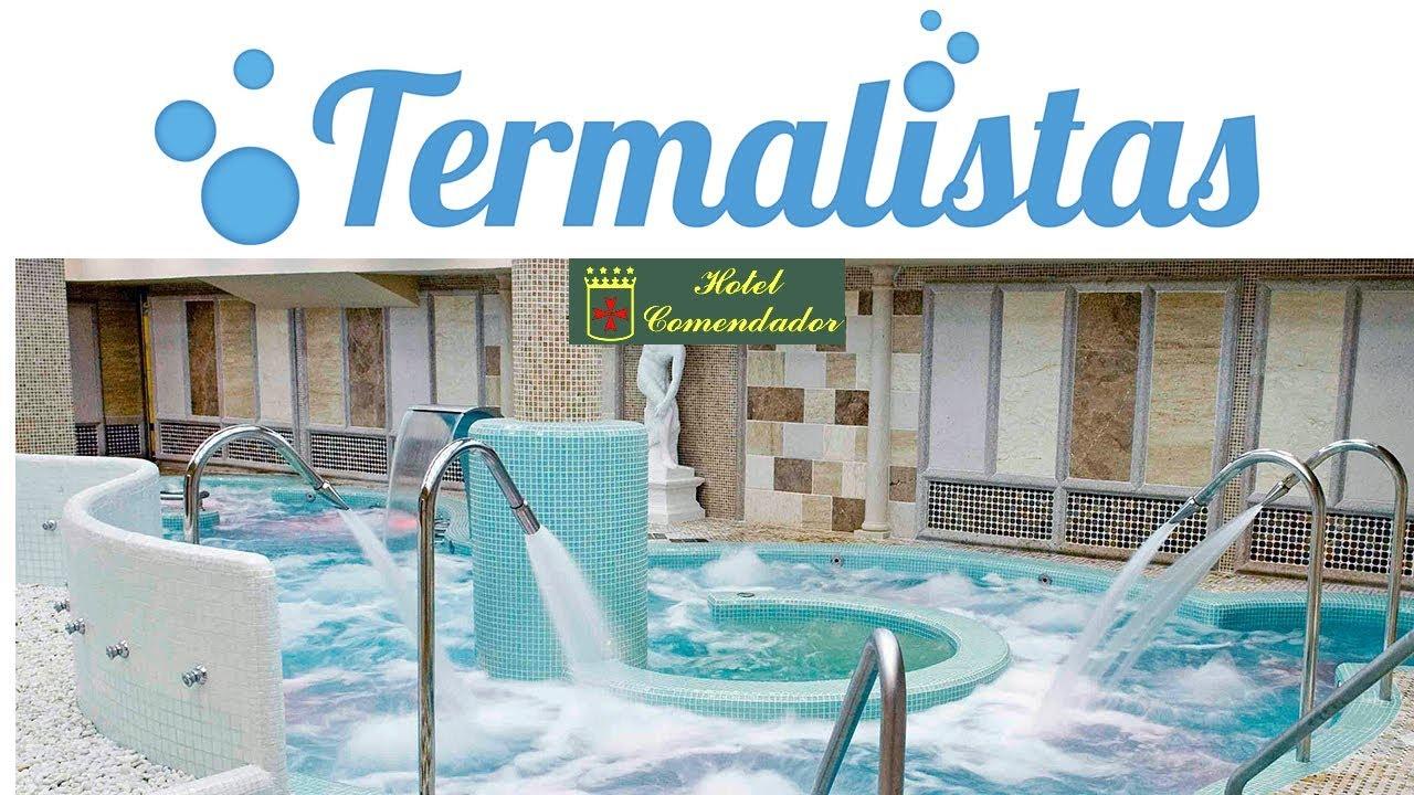 Circuito Hidrotermal : Spa balneario domus aurea en el hotel comendador circuito