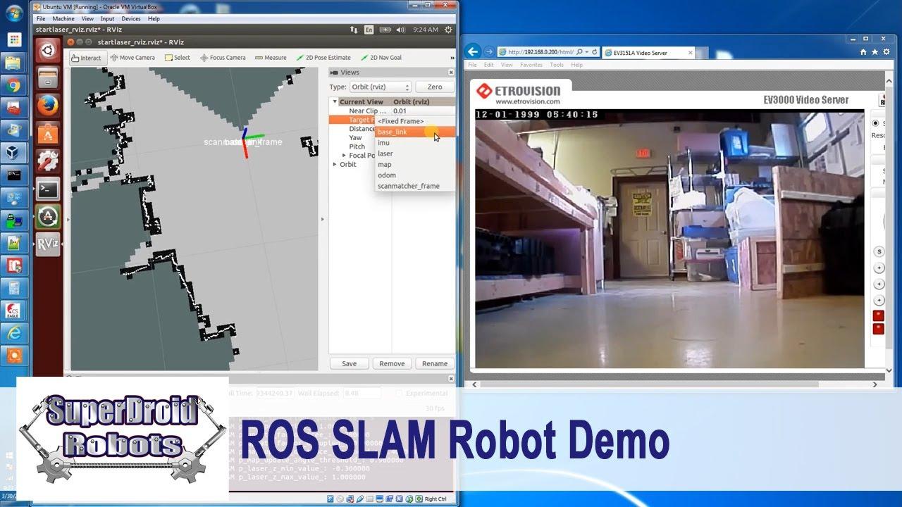 ROS Autonomous Control Package