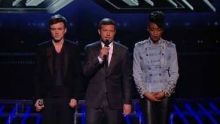 the X Factor 2009 - The Results - Live Results 6 (itv.com/xfactor)