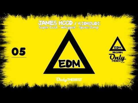 JAMES HOOD & KID ROUDI - SUPERCOOL/WHOPPER/SPACEJUMP [EP] ⑤ EDM electronic dance music records 2014