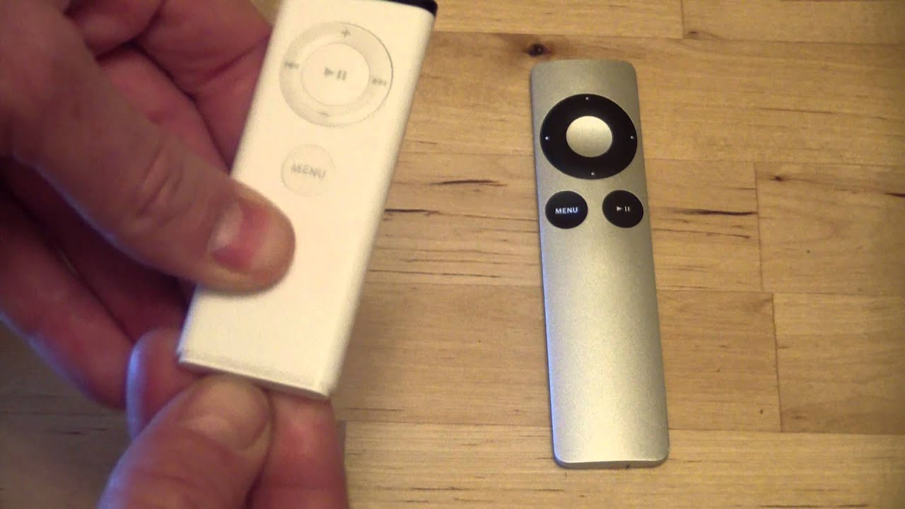 How To Change The Battery In An Apple TV Remote