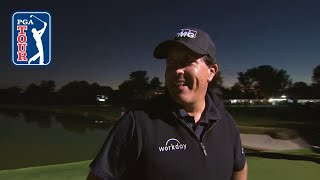 Phil Mickelson birdies 22nd hole to defeat Tiger Woods 2018