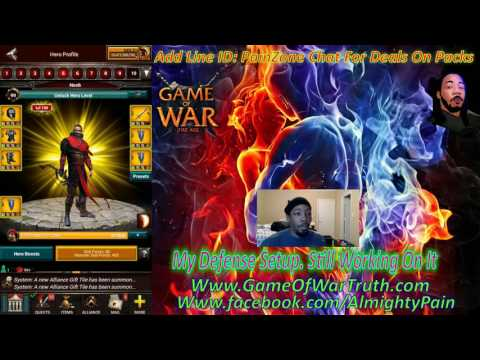 Game Of War Ep 512 My Super Trap Setup My Defense Stats Low