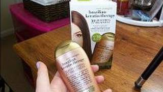Review:  Organix Brazilian Keratin Smoothing Treatment