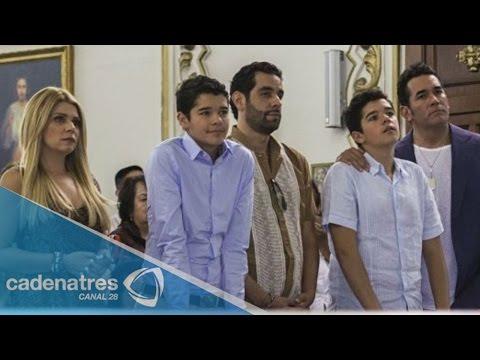 Itatí Cantoral y Eduardo Santamarina celebran  los 15 años de sus gemelos
