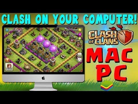 HOW TO PLAY CLASH OF CLANS(COC) ON PC/MAC IN WINDOW 7/8/10 -BLUESTACK [2018]