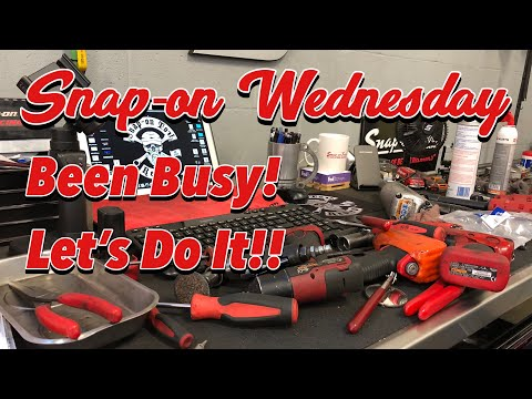 SNAP-ON WEDNESDAY - I'm Back! Been A Busy Day