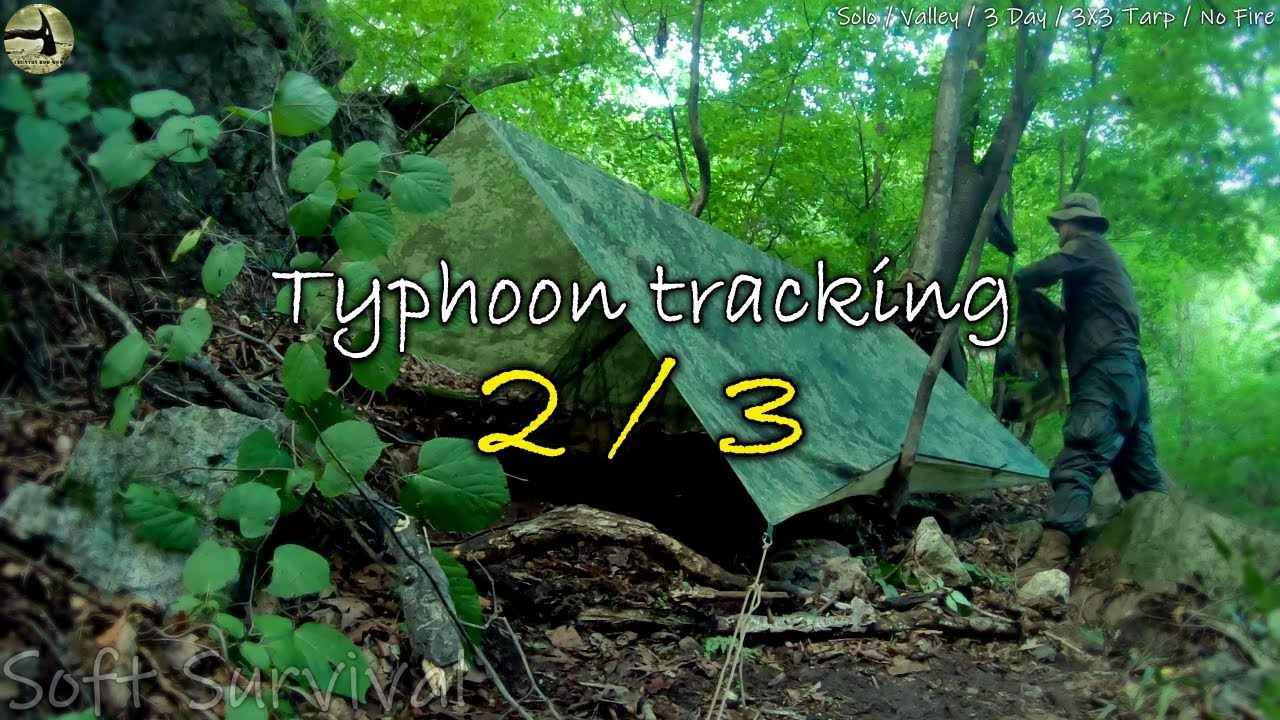[Country Bow-wow] The valley tracking in typhoon (2/3) / Helinox Cot Convertible / Oregon 750t