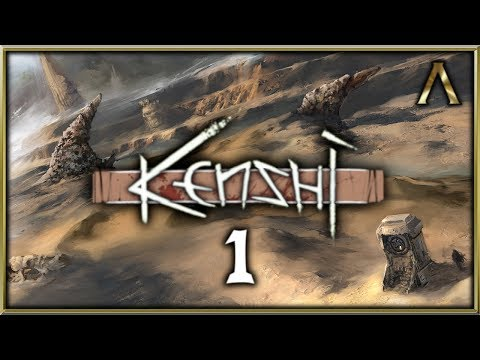 Kenshi Gameplay Pt.1 - The Tale of Rook's Band of Traders