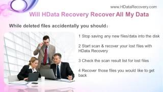 How to Recover Deleted Files from Hard Drive with 3 Minutes