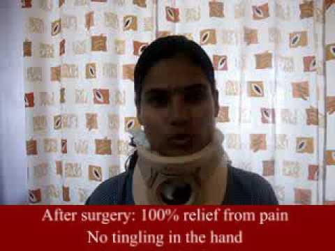Neck Surgery   Patient Testimonial   Dr.Avneesh Gupte