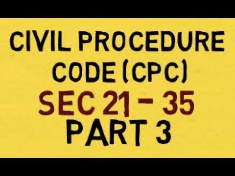 Civil Procedure Code, 1908 Memorise Easily and Quickly : CPC Part 3