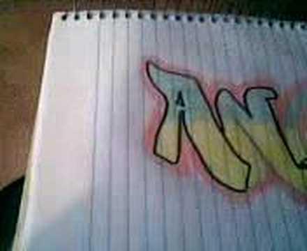 graffiti del angel