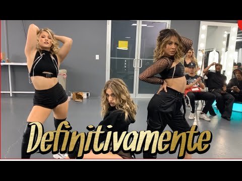 Daddy Yankee & Sech - Definitivamente Official Music Video Choreography By Greg Chapkis
