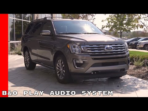 2018 Ford Expedition & EcoSport B&O Play Audio System