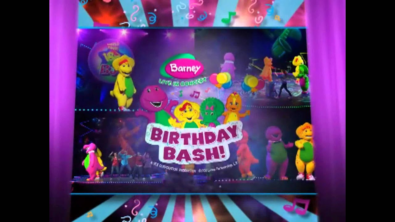 Barney Live In Concert Birthday Bash Coming To Florence SC - Barney live in concert birthday