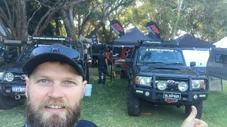 Hey 🔴LIVE from the Perth 4WD show