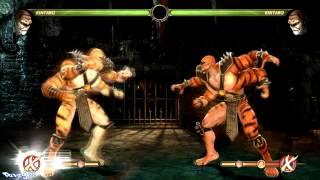 Mortal Kombat Komplete Edition (PC) - All Bosses Unlocked Mod - X-Ray Moves)