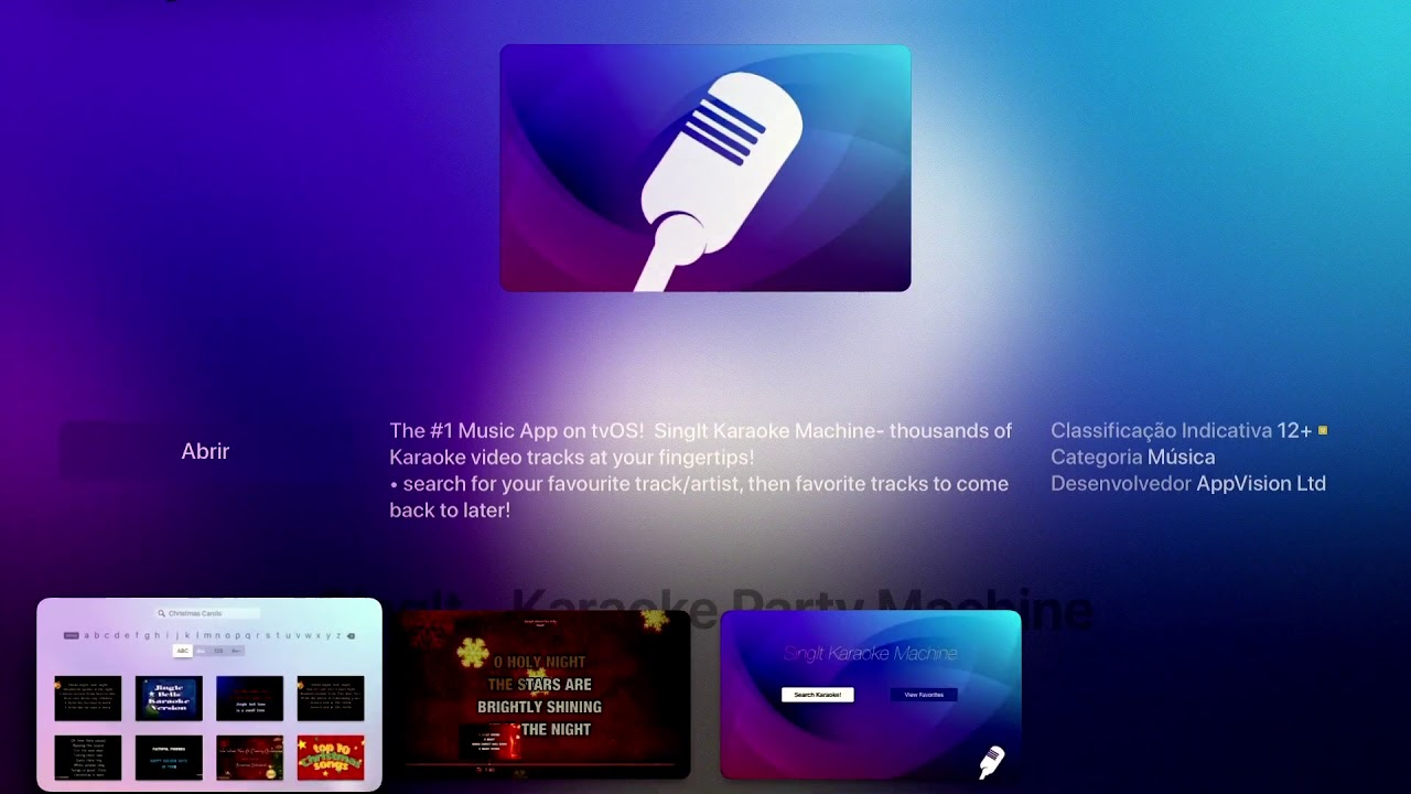 Karaoke na Apple TV - YouTube