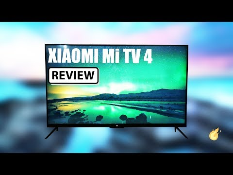Xiaomi Mi TV 4 - HDR 4k Smart TV - Full Review