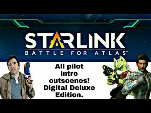 Switch Starlink: Battle for Atlas DDE G1, all 10 pilot intro cutscenes showcase w/ brief details! |