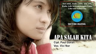 APA SALAH KITA - POP DAERAH LAMAHOLOT - FLORES TIMUR / LEMBATA - NTT