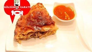 Köbete tarifi / Tavuklu börek / Huhn Burrito rezept / Yemek pasta tatli Gülsümün sarayi