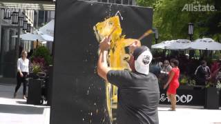 Speed Painting by Elliott From of ArtBeat Live!
