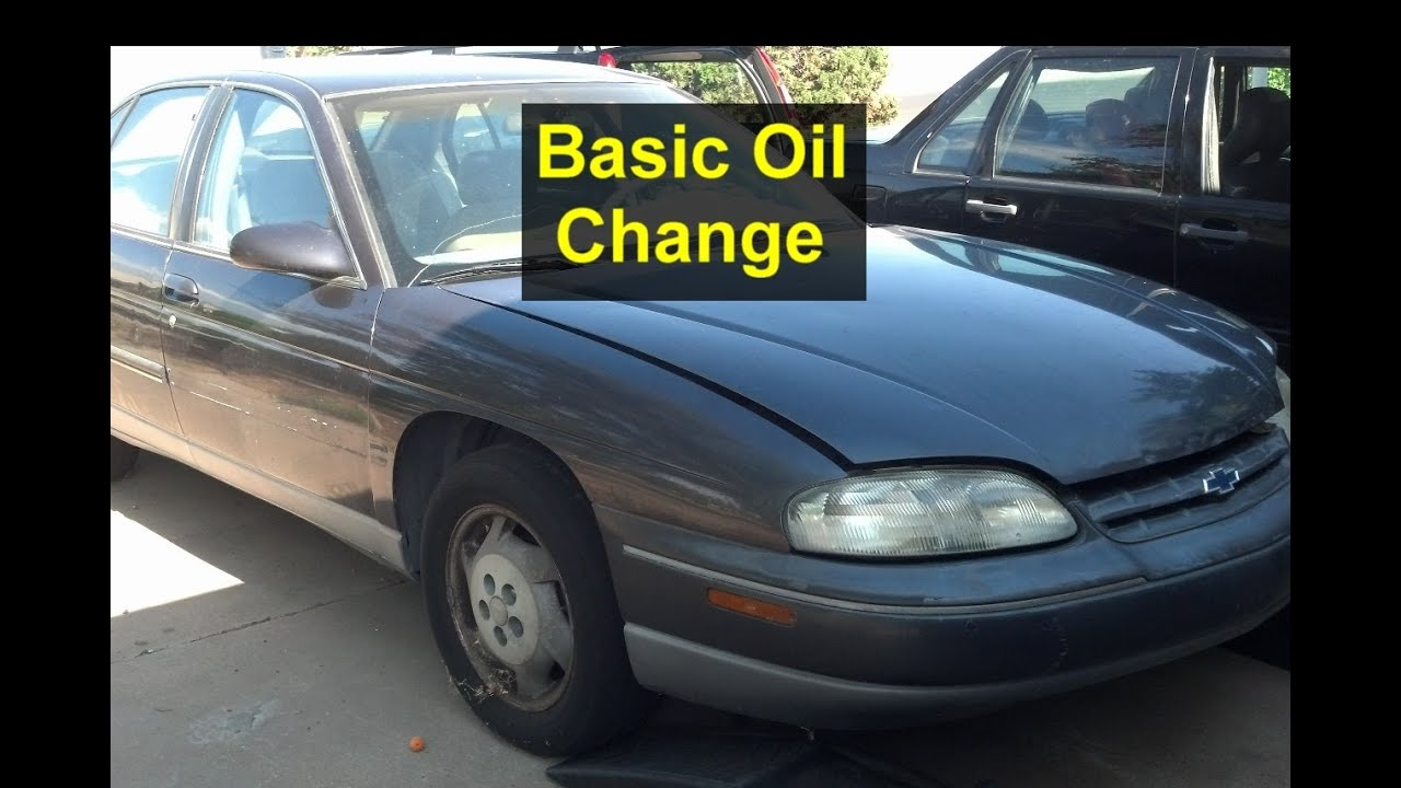 Oil Change On A Chevrolet Lumina Auto Repair Series Youtube 3400 Gm Wiring Harness