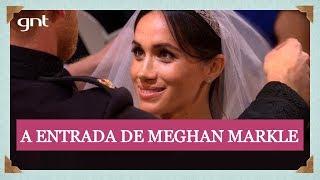 Noiva Meghan Markle encontra Príncipe Harry na capela de St. George | Casamento Real thumbnail