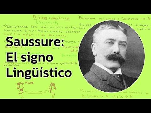 Saussure: El signo lingüístico - Lingüística - Educatina