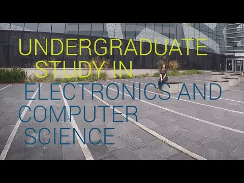 Undergraduate study in Electronics and Computer Science