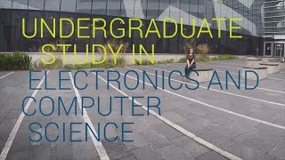Undergraduate study in Electronics and Computer Science thumbnail
